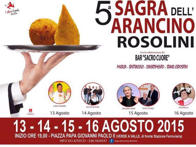 5° Sagra Arancino Rosolini