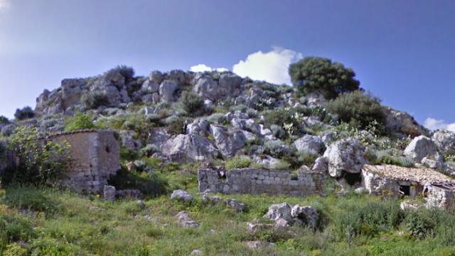 sito archeologico Gibil Gabib Caltanissetta