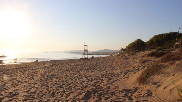 Spiaggia san leone Agrigento Sicilia